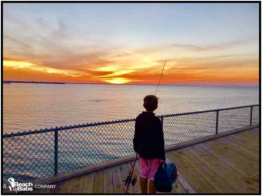 Why we live here cape henlopen fishing pier lewes for Rehoboth beach fishing