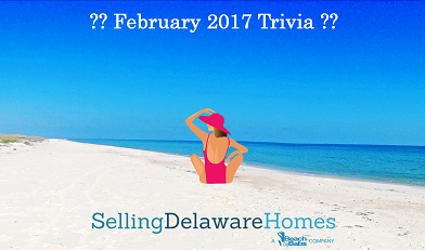 Monthly Trivia Answers For BeachByBabs Real Estate Monthly E-Newsletter – Feb. 2017