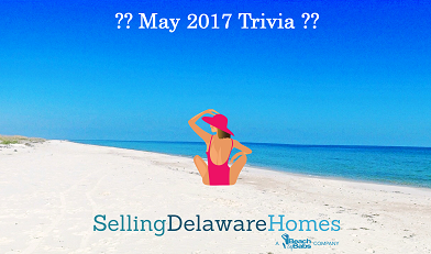 Monthly Trivia Answers For BeachByBabs Real Estate Monthly E-Newsletter – May 2017