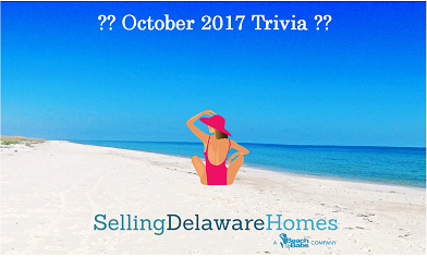 Monthly Trivia Answers For BeachByBabs Real Estate Monthly E-Newsletter – October 2017