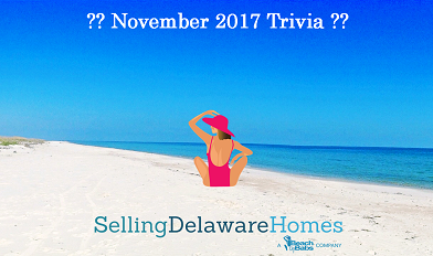 Monthly Trivia Answers – November 2017