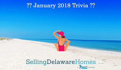 Monthly Trivia Answers – January 2018