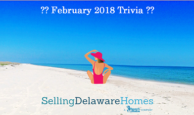 Monthly Trivia Answers – February 2018