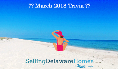Monthly Trivia Answers – March 2018