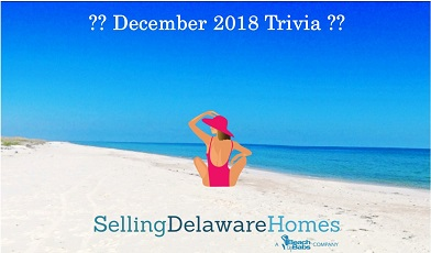 Monthly Trivia Answers – December 2018