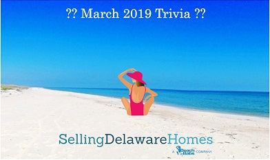 Monthly Trivia Answers – March 2019