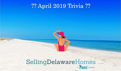 Monthly Trivia Answers – April 2019
