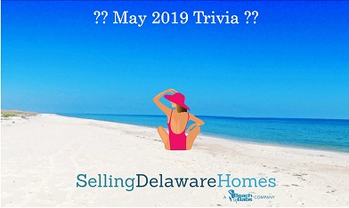 Monthly Trivia Answers – May 2019