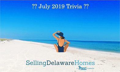 Monthly Trivia Answers – July 2019