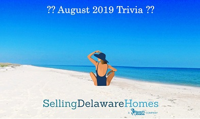 Monthly Trivia Answers – August 2019