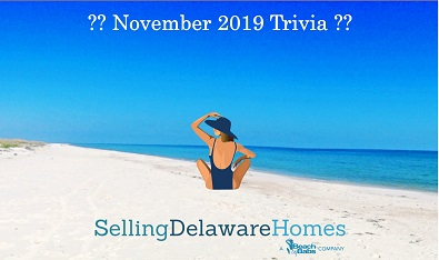 Monthly Trivia Answers – November 2019