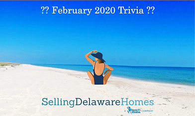Monthly Trivia Answers – February 2020  Copy